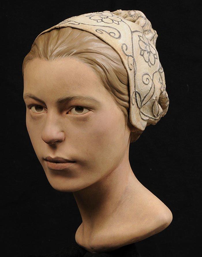 17. Джейн из Джеймстауна воссоздание, известные люди, история, лицо, люди прошлого, облик, реконструкции, реконструкция